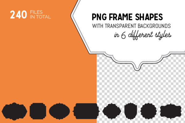 PNG Frame Shapes