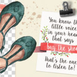 20 watercolor summer shoes