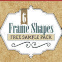 Freebie: 6 Frame Shapes