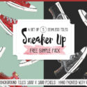 Freebie: Sneaker Up with a Seamless Pattern Pack
