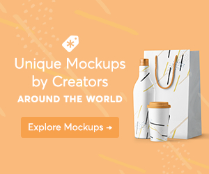 unique product mockups available at creative market